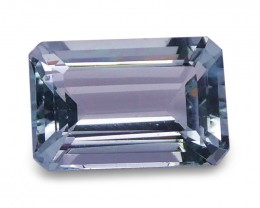 1.31 ct Emerald Cut Aquamarine - $1 No Reserve Auction