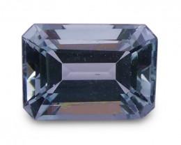 1.56 ct Emerald Cut Aquamarine - $1 No Reserve Auction