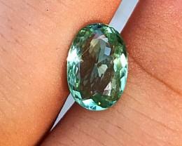2.65 cts Mint Green Tourmaline - VVS - Paprok Mine