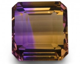 28.45 ct Square Ametrine
