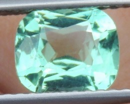 1.38cts Neon Apatite,  Jaw Dropping Luster, Calibrated