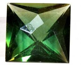 5.65- CTS  GREEN QUARTZ FACETED  CG-2535