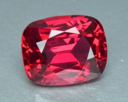 1.47 Cts Elegant Beautiful Color Natural Burmese Red Spinel
