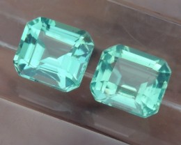 3.00cts Neon Apatite,  Jaw Dropping Luster, Calibrated