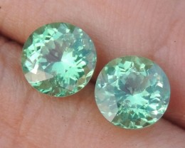 4.30cts Neon Apatite,  Jaw Dropping Luster, Calibrated