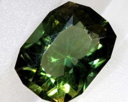 2.82- CTS  GREEN QUARTZ FACETED  CG-2543