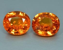 9.63 Cts Fabulous Wonderful Color Natural Spessartite Garnet
