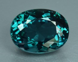 3.69 Cts Magnificent Beautiful Top Blue Green Natural Tourmaline