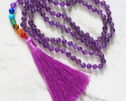 Amethyst Prayer Beads WS383