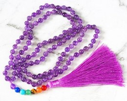 Amethyst Prayer Beads WS384