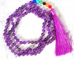 Amethyst Prayer Beads WS387