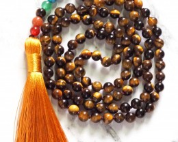 Tiger Eye  Prayer Beads WS394