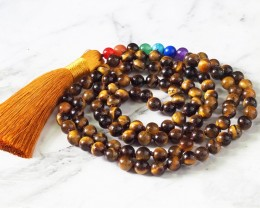 Tiger Eye  Prayer Beads WS396