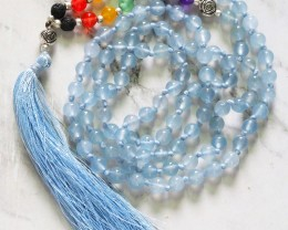 Dyed Quartz Prayer Beads WS397