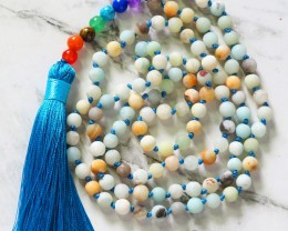 Agate Prayer Beads WS399