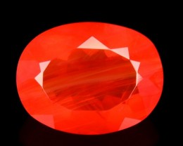 1.65Cts Untreated Natural Mexican Fire Opal Oval