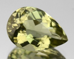 2.34Cts Natural Green Tourmaline Cute Pear