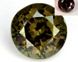 2.60Ct Eye Catching Natural Colour change Garnet Round