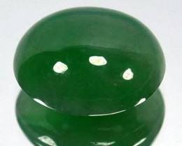 Certified! 3.12Ct Untreated Natural Burmese Jade Oval Cab
