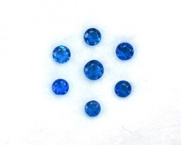 Wonderfu0.23 Cts Extremely Rare Diamond Gleaming Electric Blue Natural Hauy