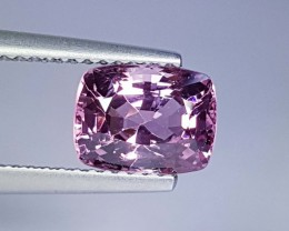 2.24 cts Excellent Gem Cushion Cut Natural Spinel