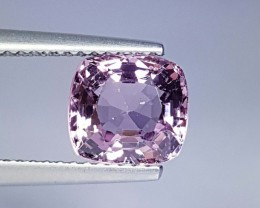 2.47 cts Exclusive Luster Cushion Cut Natural Spinel