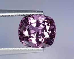 2.57 cts Rare & Lovely Color Cushion Cut Natural Spinel