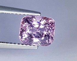 2.37 cts Stunning Luster Cushion Cut Natural Spinel