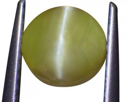1.46 ct Round Chrysoberyl Cat's Eye