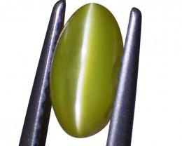 1.1 ct Oval Chrysoberyl Cat's Eye
