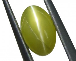 1.53 ct Oval Chrysoberyl Cat's Eye