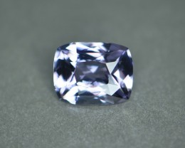 3.47 cts certified greyish violet spinel.