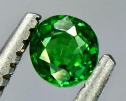 0.25 Crt Natural Tsavorite Garnet Faceted Gemstone.( AG 55)