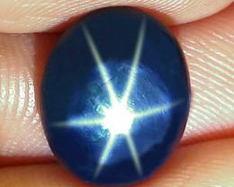 7.11 Carat Thailand Diffusion Blue Star Sapphire - Gorgeous