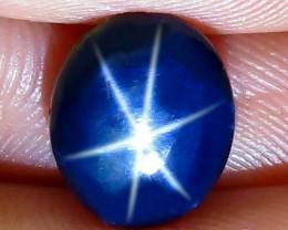 3.70 Carat Thailand Blue Star Sapphire - Gorgeous