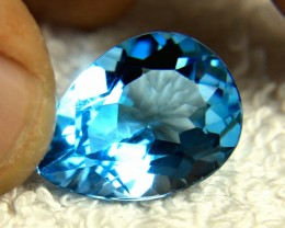 19.05 Blue Brazil VVS Topaz - Gorgeous