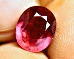 5.45 Carat Fiery Red Ruby