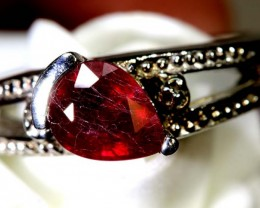 28.40-CTS  RUBY RING SG-2727