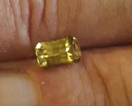 Australian Yellow Sapphire Gemstones