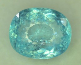 Gil Certified 9.18 ct Natural Blue Paraiba Tourmaline