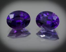 Purple Amethyst 5.08 ct Uruguay GPC Lab