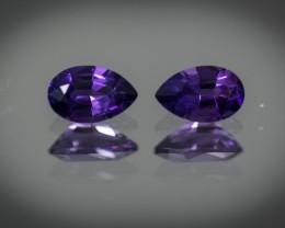 Purple  Amethyst 1.33 ct Uruguay GPC Lab