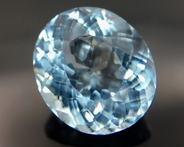 3.35 Crt Aquamarine Faceted Gemstone (R 24)