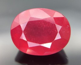3.30 Crt Composite Ruby Faceted Gemstone (R 24)