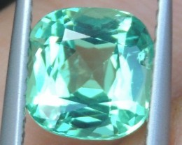 2.23cts Neon Apatite,  Jaw Dropping Luster, Calibrated