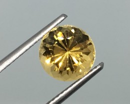 SALE ! 1.98 Carat VVS Citrine Diamond Yellow Beauty - Calibrated - Quality