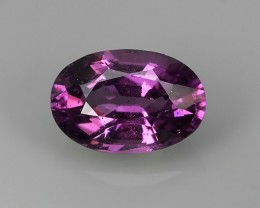EXQUISITE NATURAL UNHEATED PURPLE-PINK COLOR OVAL RHODOLITE GARNET!!