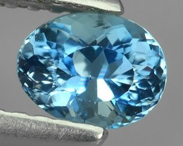 Nice Quality Natural Top Colour Aquamarine  Untreated Oval Shape