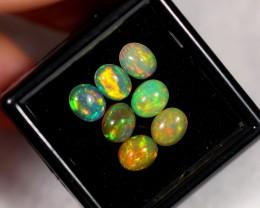 2.90cts 6x5mm Ethiopian Welo Polished Opal Parcel Lot