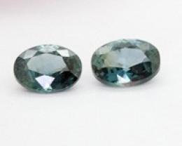 2 x Australian Sapphire Certified